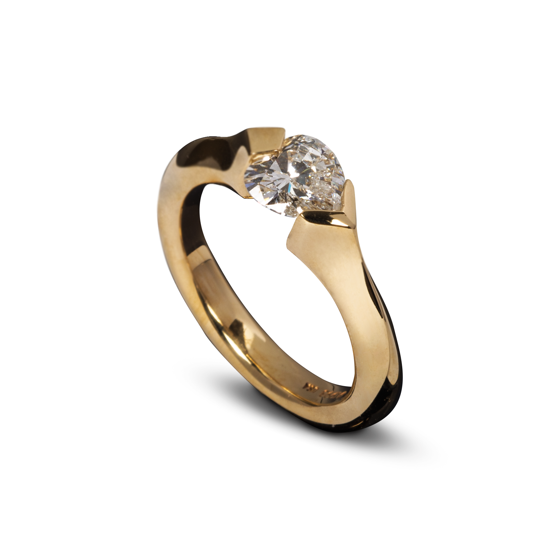 ring tension diamond haywards of engagement twist hong rings modern solitairetensionset set product kong