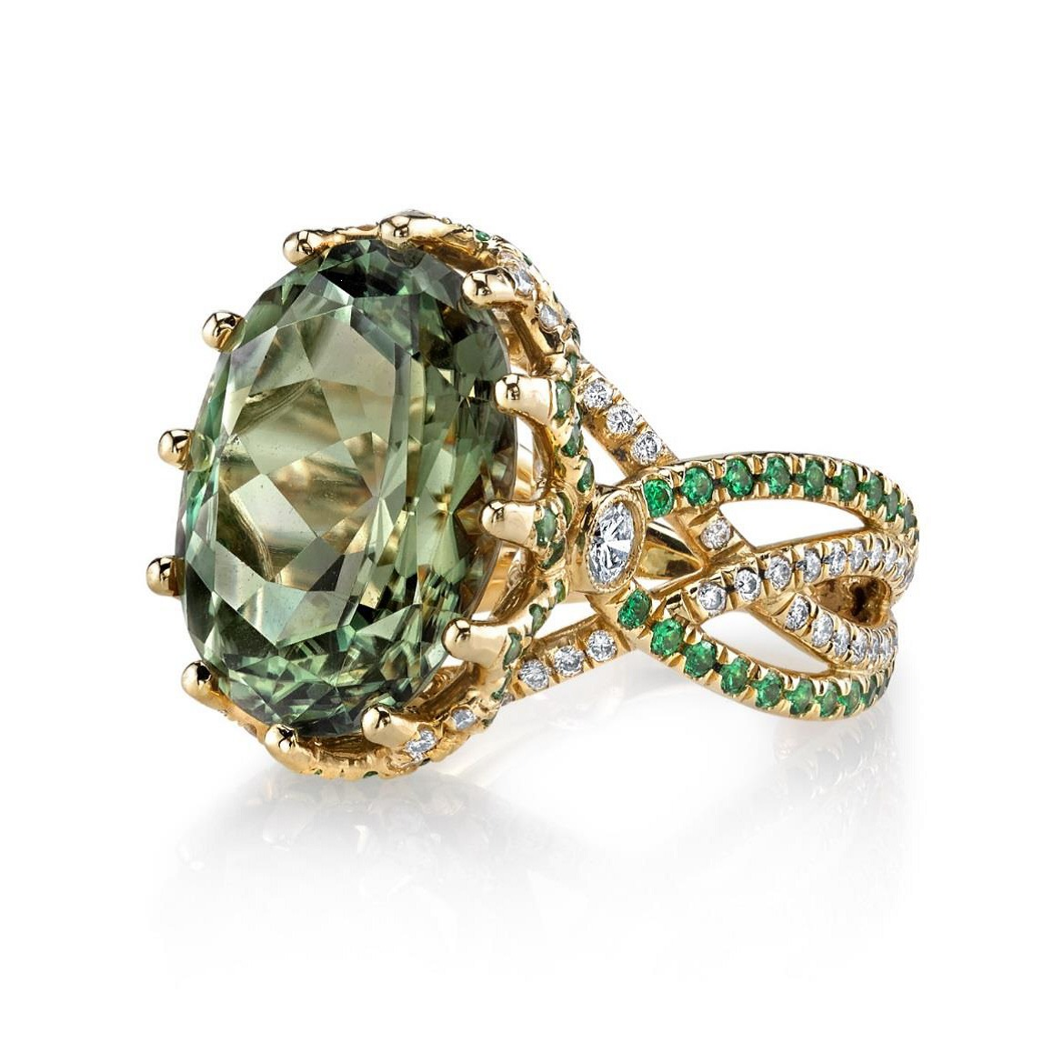 white brown stack topaz rings product designer gold tsavorite blue diamond garnet cappuccino and yellow